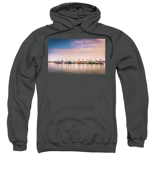 Fishing Boats Sweatshirt