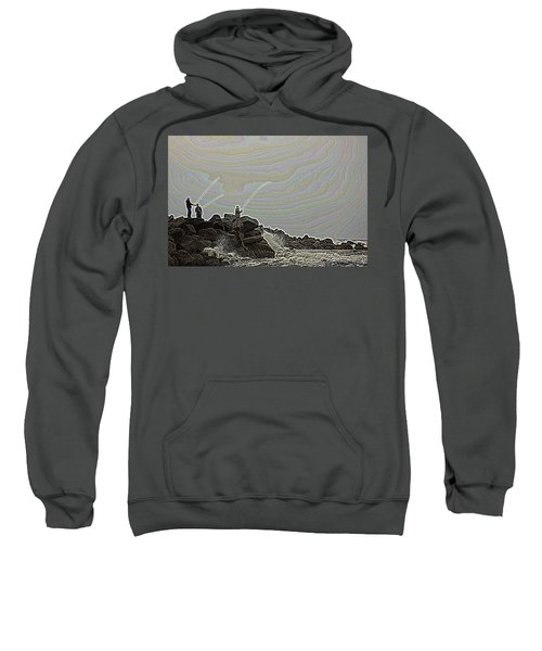 Fishing In The Twilight Zone Sweatshirt