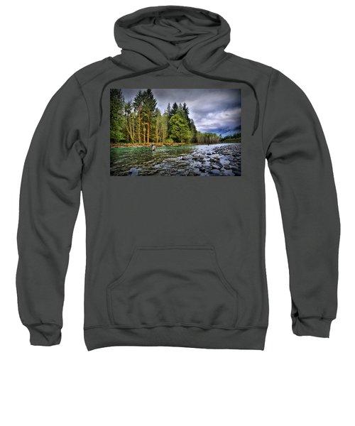 Fishing The Run Sweatshirt