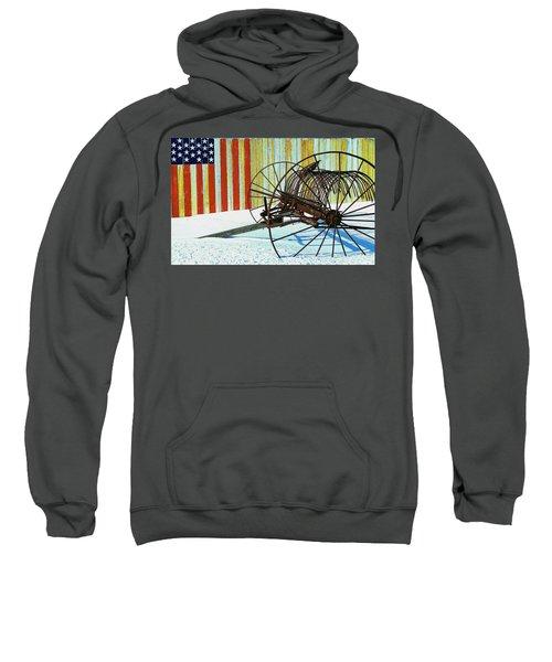 Flag And The Wheel Sweatshirt