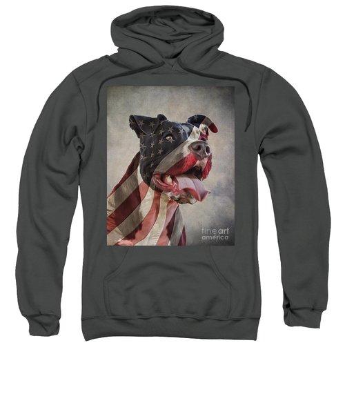 Flag Dog Sweatshirt