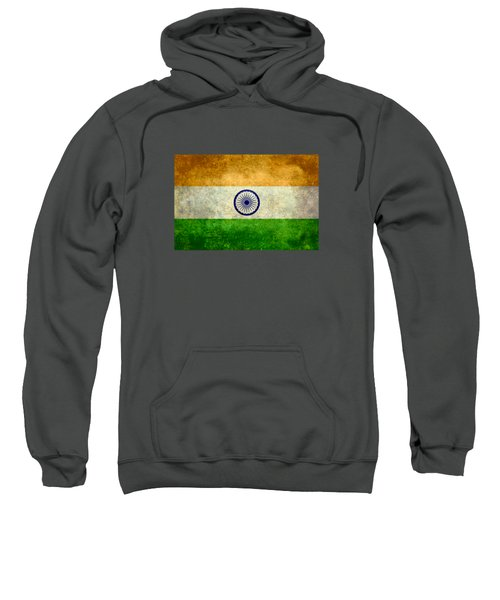 Flag Of India Retro Vintage Version Sweatshirt