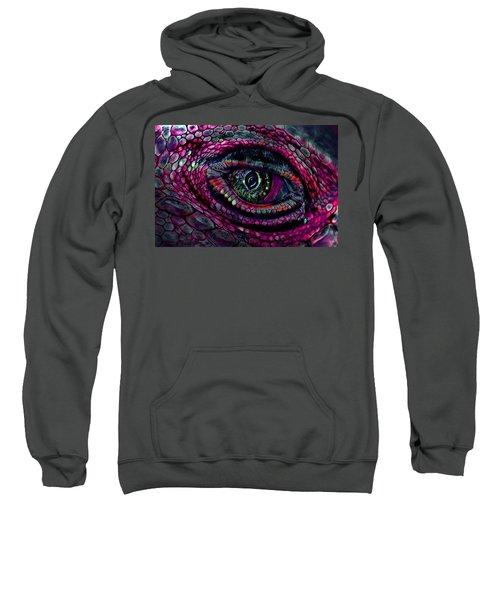 Flaming Dragons Eye Sweatshirt