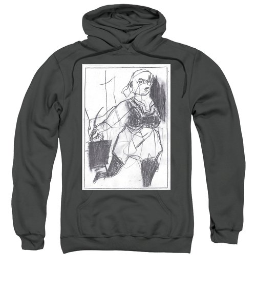 Fleeing Writer Sweatshirt