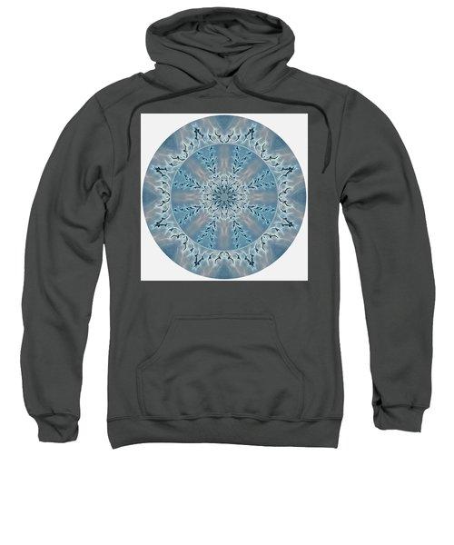 Flight Of The Tundra Swan Mandala Sweatshirt