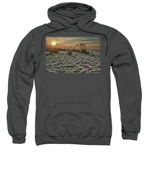 Flipflops On The Beach Sweatshirt
