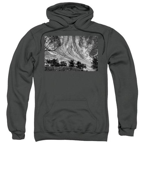 Floating Oil Spill On Water Sweatshirt