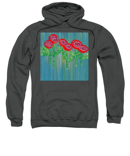 Floating Roses Sweatshirt