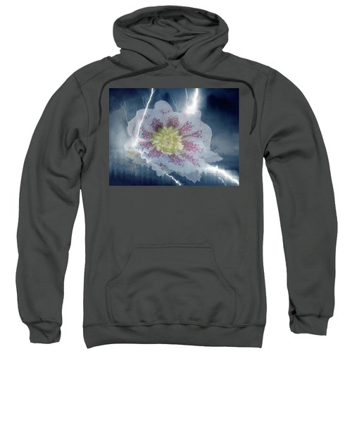 Floral Lightning Reflections Sweatshirt