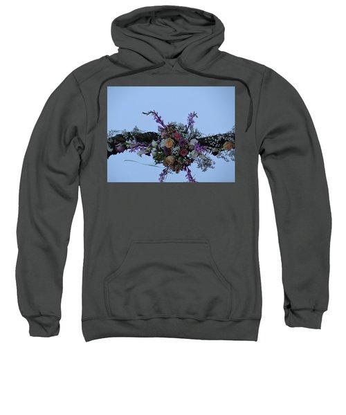 floral love in the Kenyan sky Sweatshirt