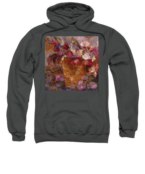 Floral Still Life Pinks Sweatshirt