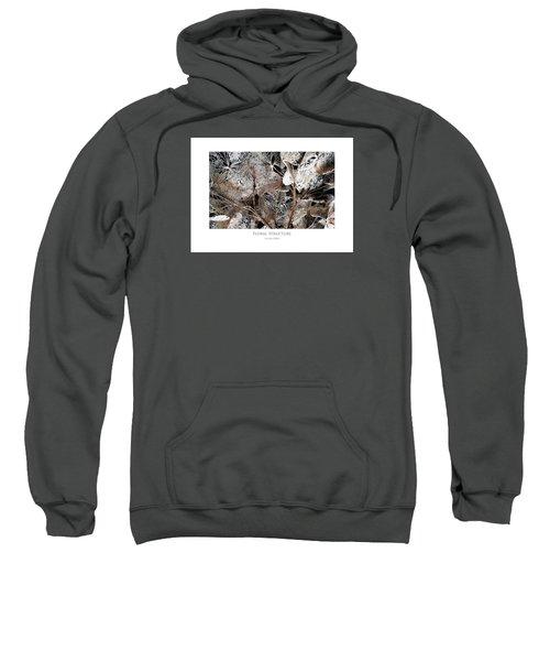 Floral Structure Sweatshirt