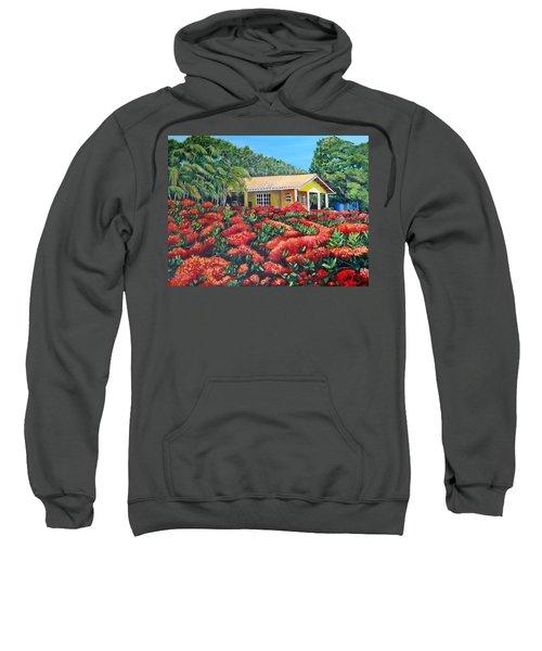 Floral Takeover Sweatshirt