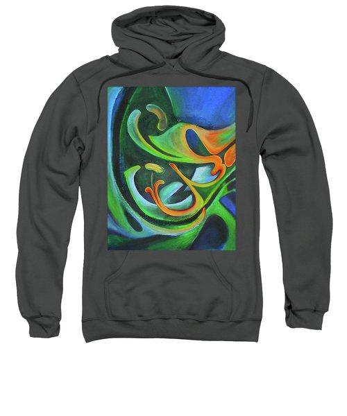 Floralblue Sweatshirt