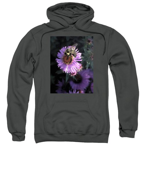 Flower And Bee Sweatshirt