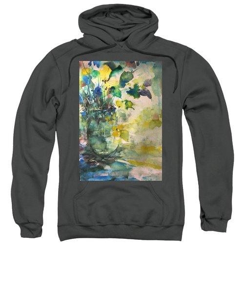 Flower And Vase Stilllife  Sweatshirt
