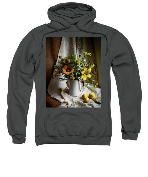 Flowers And Lemons Sweatshirt