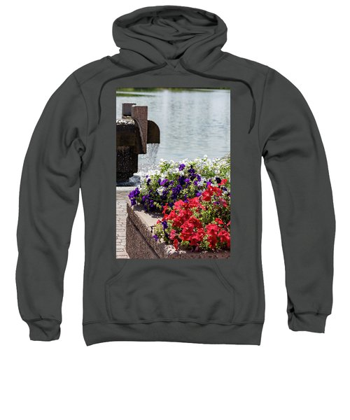Flowers And Water Sweatshirt