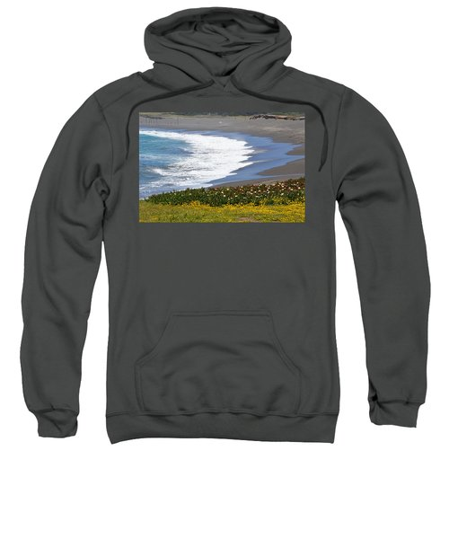 Flowers By The Sea Sweatshirt