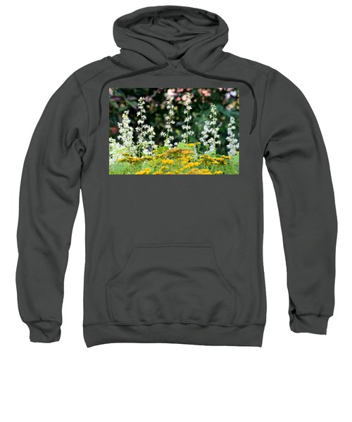 Flowers Sparkling Above The Tansies Sweatshirt
