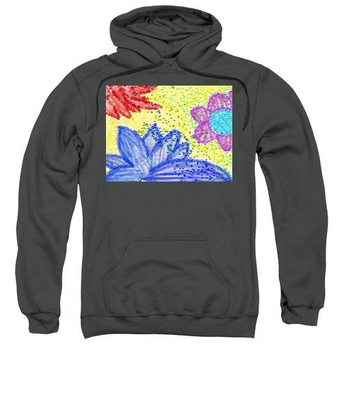 Flowery Lotus Sweatshirt