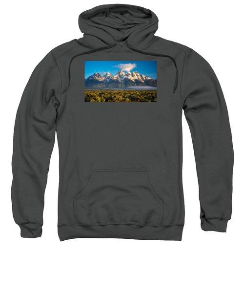 Fog At The Tetons Sweatshirt