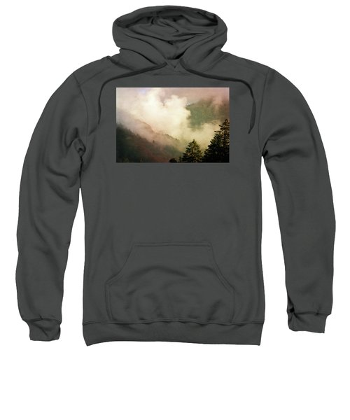 Fog Competes With Sun Sweatshirt