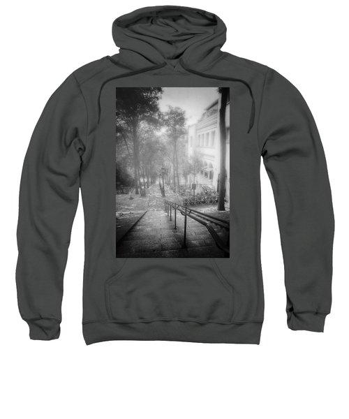 Fog In Montmartre Sweatshirt