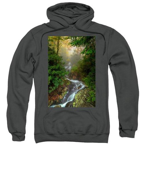Foggy Autumn Cascades Sweatshirt