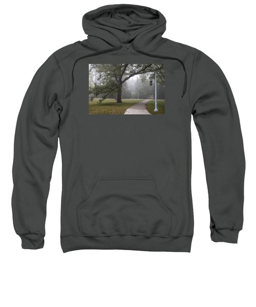 Foggy Campus  Sweatshirt