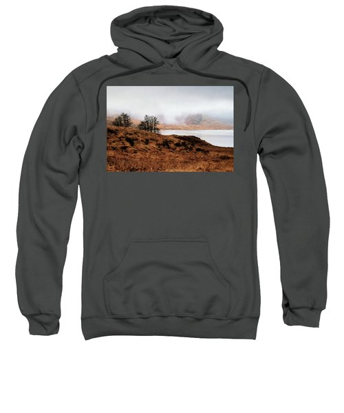 Foggy Day At Loch Arklet Sweatshirt by Jeremy Lavender Photography