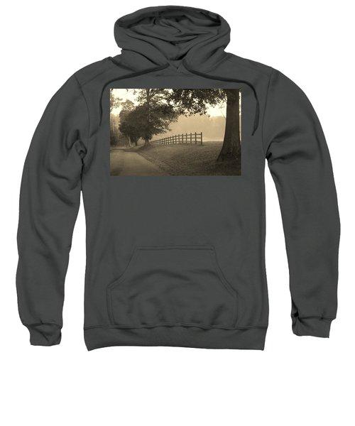 Foggy Fence Line Sweatshirt