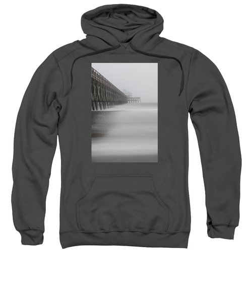 Foggy Folly Beach Pier Sweatshirt