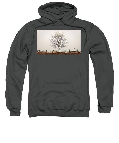 Foggy Lone Tree Hill Sweatshirt