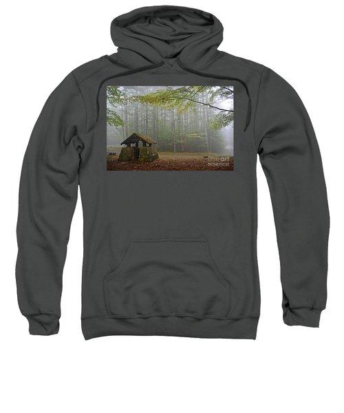 Foggy Morning At Droop Mountain Sweatshirt