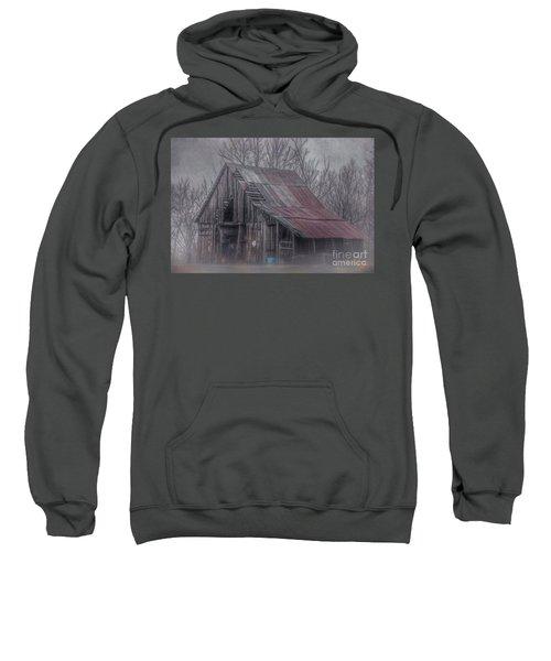 Foggy Morning Backroads Sweatshirt