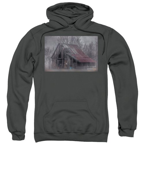 Foggy Morning Backroads Sweatshirt