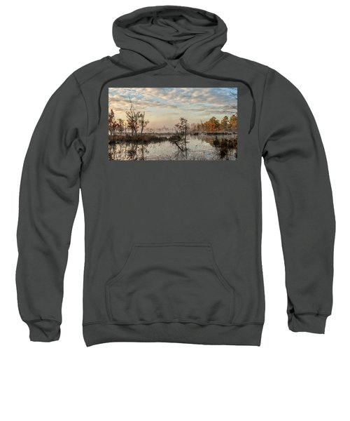 Foggy Morning In The Pines Sweatshirt