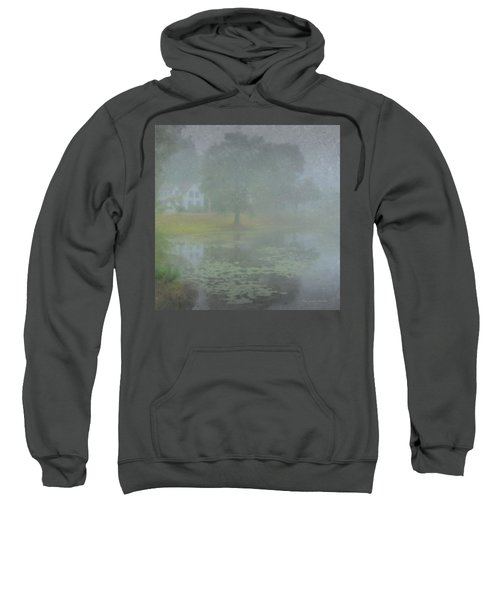 Foggy Morning On Pond Street Sweatshirt