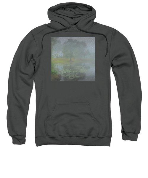 Foggy Morning On Pond Street Sweatshirt