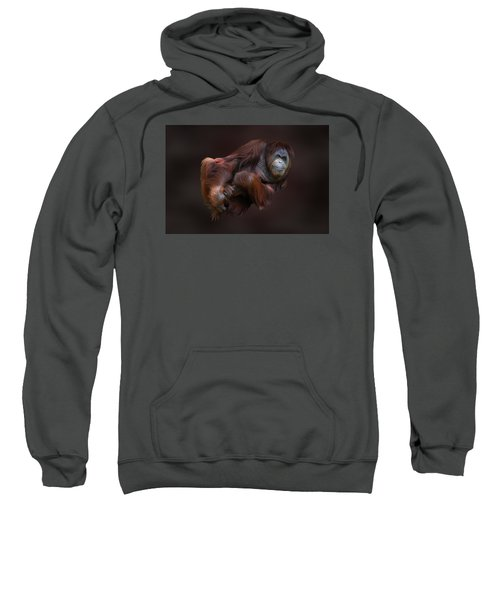 Folded Orangutan Sweatshirt