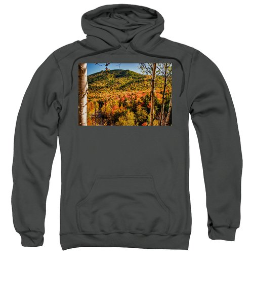 Foliage View From Crawford Notch Road Sweatshirt