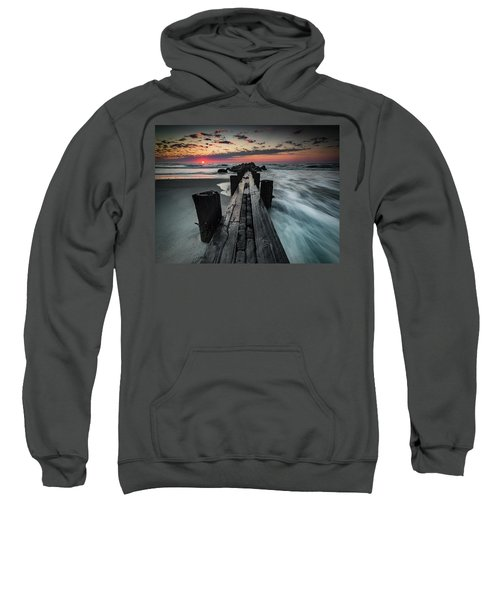 Folly Beach Tale Of Two Sides Sweatshirt