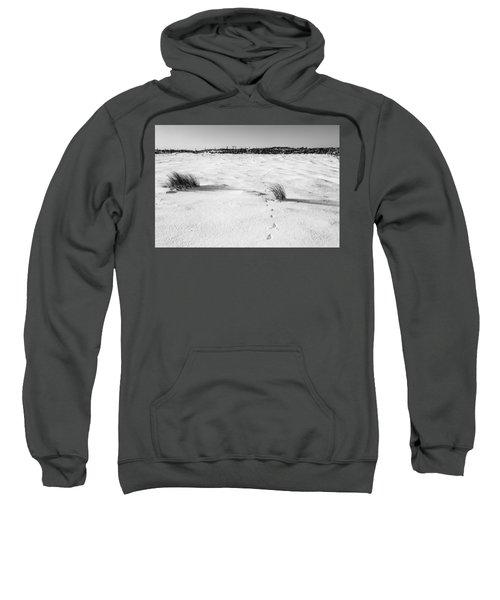 Footprints In The Snow I Sweatshirt