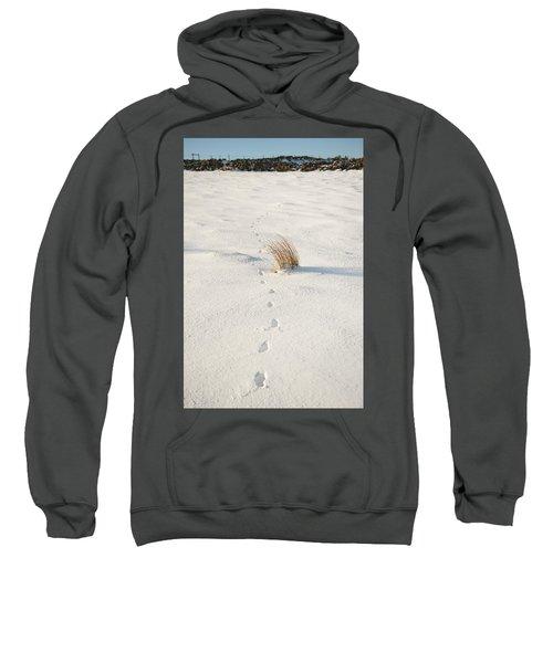 Footprints In The Snow II Sweatshirt
