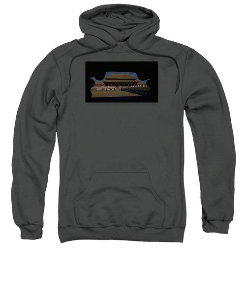 Forbidden City, Beijing Sweatshirt by Travel Pics