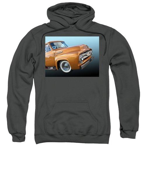 Ford F100 1955 In Bronze Sweatshirt