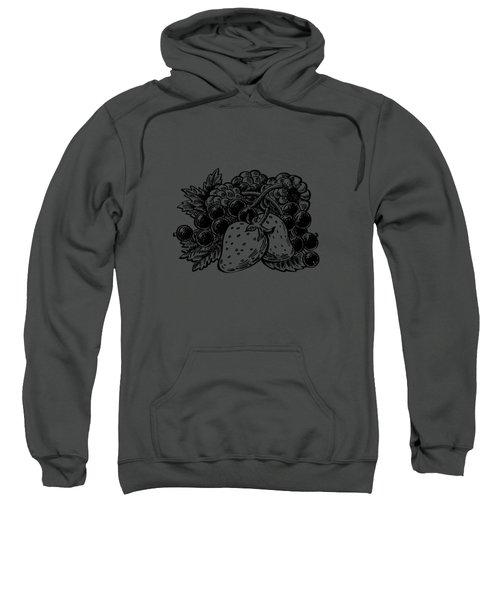 Forest Berries Sweatshirt by Irina Sztukowski