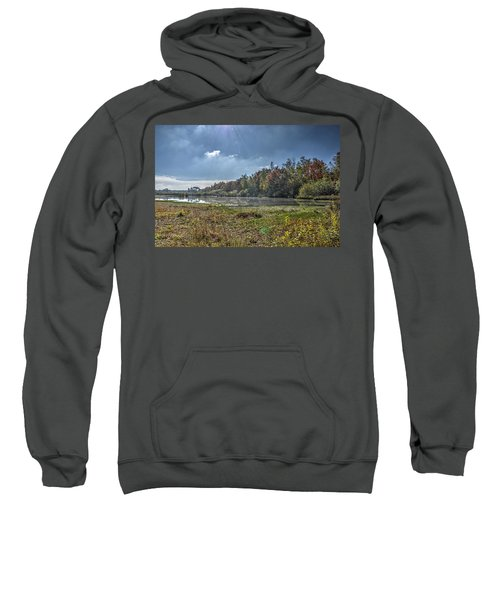 Forest Lake In Autumn Sweatshirt