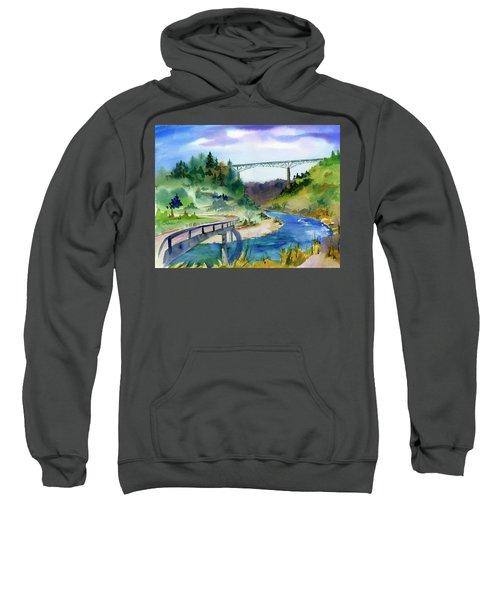 Foresthill Bridge #2 Sweatshirt